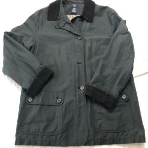 Gap Men's navy blue coat size large